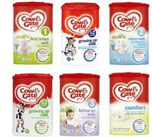 COW & GATE INFANT MILK POWDER 1,2,3,4,5,6