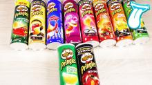 PRINGLES 40GRM AND 165GRM WITH ENGLISH AND ARABIC TEXT
