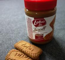 Original caramel flavor lotus biscuits