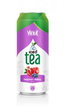 Iced Tea Pomegranate - Blueberry Flavour 500ml