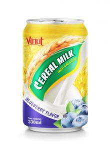 330ml Cerear Milk Blueberry Flavor