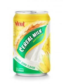 330ml Cerear Milk Sweet Corn Flavor
