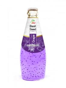 Basil Seed Drink Grape Flavor 290ml