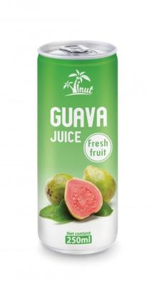 250ml Guava Juice Fresh Fruit