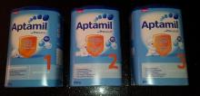 800 gram box Aptamil Baby Milk Powder, Choose by age, Worldwide shipping.