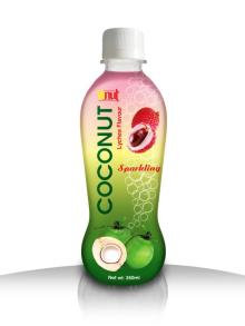 350ml Lychee Sparkling Coconut water