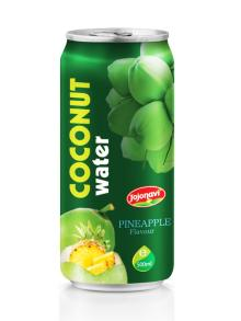 Wholesale Coconut water with Fruit Juice Pineapple flavour Aluminium can