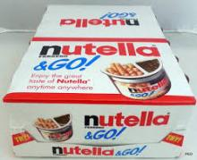 Ferrero Nutella & Go Chocolate Hazelnut Cream and Biscuits Snack 52gr