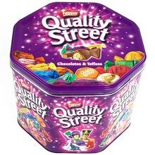 Nestle Quality Street Chocolate on Stock