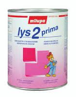 Milupa LYS products