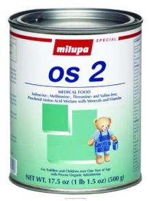 Milupa OS products