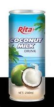 100% pure natural Coconut milk
