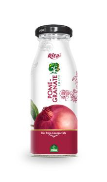 200ml glass bottle Pomegranate Juice