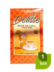 1 Box Coca Tea Delisse (100 Bags)