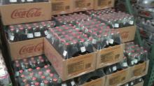 FIZZY DRINKS AND MINERAL WATER FOR SALE COLA ,SPRITE, FANTA.....CARBORNATED SOFT DRINKS