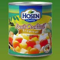 Canned tropical fruit cocktail for sale