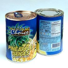 Thailand standard canned pineapple slice