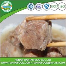 Instant food canned steamed pork