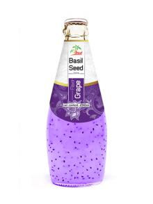 290ml Grape Flavour Basil Seed Drink
