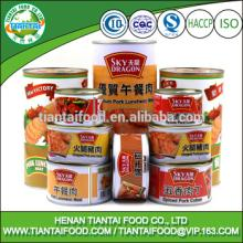 Professional Tinned meat manufacturer