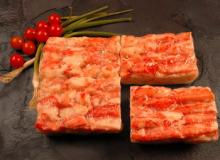 . Live and Frozen Red king crab