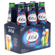 250ml , 330ml Kronenbourg 1664 Blanc french beer