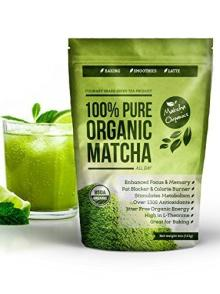 100% Organic Matcha pure green tea powder