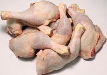 Frozen Whole Chicken, Quarters- Leg