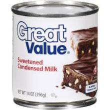 Great Value Sweetened Condensed Milk For Sale