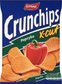 CRUNCHIPS 150g X-Cut Hot Pepper Chips