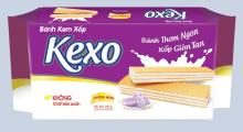 Kexo Cream wafer cake Taro flavor
