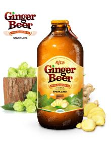 340ml Glass bottle Ginger Beer Drink