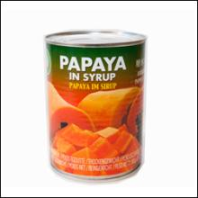 BEST QUALITY CANNED RED PAPAYA IN SYRUP GOOD FOR HEALTH-TROPICAL FRUIT FROM VIETNAM