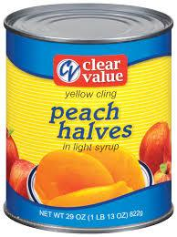 Canned Peaches Available