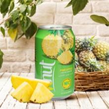 330ml Canned Real Pineapple Juice Drink