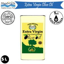 Ultra Quality Olive Oil METTALIC TIN 5 L. Extra Virgin Olive Oil