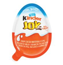 KINDER JOY Chocolate Egg T1 Boy (72 x 21g)