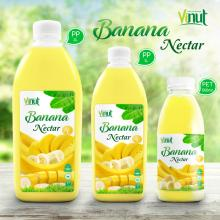 Bottle Banana Juice Drink Nectar