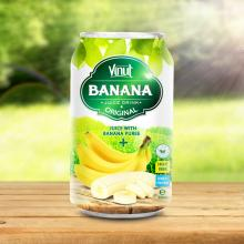 330ml Canned Banana Juice Puree