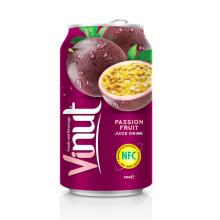 330ml Canned Fruit Juice Passion Juice Drink Supplier