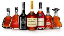 Hennessey cognac whiskey
