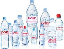 Evian Natural Mineral Water
