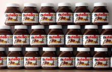 NUTELLA 350g Chocolate Cream on stock, Ferrero Rocher T48 Chocolate