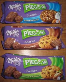 Milka pieguski cookies with chocolate for sale