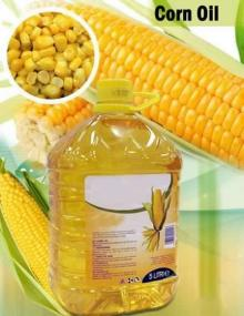 Refined Corn Oil, Crude Corn Oil
