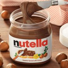 NUTELLA HAZELNUT CHOCOLATE SPREAD (230g / 350g / 400g / 630g / 750g) AND NUTELLA & GO