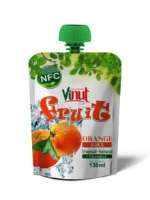 130ml Tropical Orange Juice Drink in bag