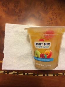 China origin organic fruit mix in syrup
