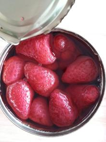 best selling strawberry in can