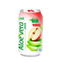 330ml Cans Original taste Aloe vera drink with Apple natural flavour(pack of 24)